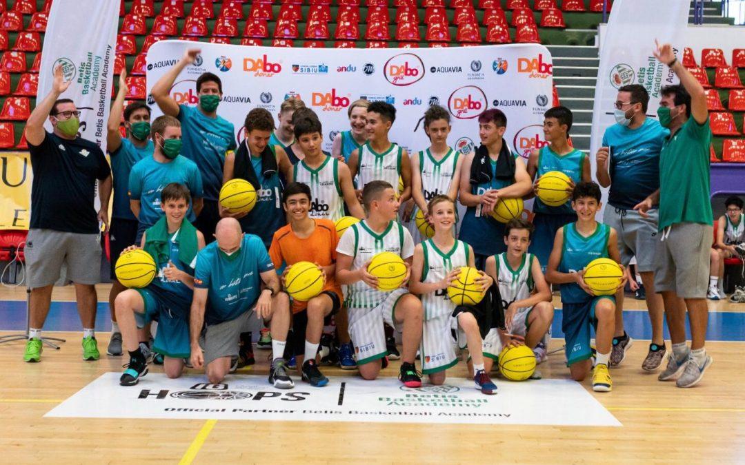 Real Betis Baloncesto Camp, Sibiu 2020 – 63 de participanți, 6 zile, înapoi pe terenul de baschet!